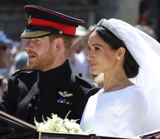 Tampilan Gaun Elegan di Royal Wedding Pangeran Harry dan Meghan Markle