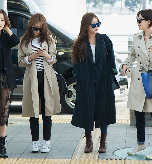 Korean Airport Fashion